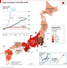 A look at the GDP of #Japan by region