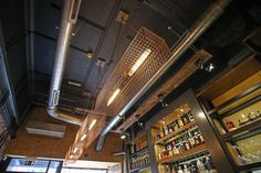 Sanctuary Tap, Liverpool Cage Lighting