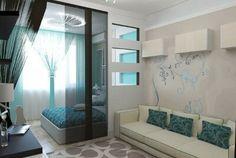 Гостиная и спальня в одной комнате... 7 идей для жизни - Мой Мир@Mail.ru