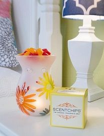 Scentchips are the original wax melt! Handmade in San Antonio, Texas for over 3 decades, we pride ourselves on customer service and product quality. Our unique Create-a-Scent blending station lets you mix your own special fragrance with thousands of combinations possible. We have a fabulous selection of electric warmers for any office or home decor. http://www.greatrep.com/secure/directory/dirVendorProfile.asp?vID=29548