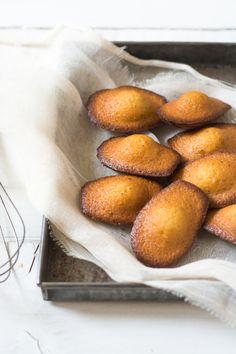madeleines au citrOn miel et pavot