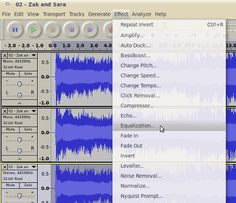 How to easily remove vocals from a song with a free audio software called Audacity
