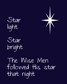 Free Christmas Printable-love this Christmas Program, Christmas Star, Christmas Quotes, Little Christmas, All Things Christmas, Christmas Holidays, Christmas Crafts, Christmas Decorations, Xmas