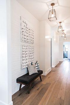 21+ Modern Interior Design Ideas Emphasizing White Brick Walls Tags: white brick accent wall bedroom, black and white brick walls, white brick walls bedroom, white brick wall decor, white brick wall design, white brick wall free