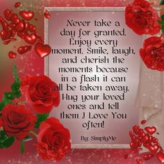 Never take a day for Granted Good Morning Good Night, Good Morning Quotes, Love Quotes, Inspirational Quotes, Happy Boy, Morning Prayers, Simple Reminders, Kindness Quotes, Positive Quotes For Life