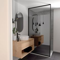 How to Finish Your Basement and Basement Remodeling – House Remodel HQ Bathroom Design Inspiration, Bathroom Interior Design, Scandinavian Home Interiors, Home Staging, Home And Family, New Homes, Leroy Merlin, Home Decor, Dressing