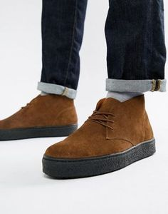 Zign cupsole desert boots in brown suede at ASOS. Fashion Bags, Fashion Accessories, Mens Fashion, Fashion Trends, Tie Shoes, Men's Shoes, Ivy Style, Desert Boots, Shoe Game