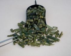 Green Tourmaline crystal rough loose natural gem parcel over 100 carats #pinnaclediamonds