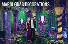 Mardi Gras Decorations, Mardi Gras Party Decorations