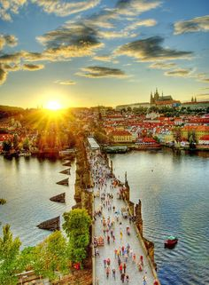 Prague, Czech Republic. This place is so rich in history and architecture.