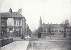 Albert Road, Middlesbrough on a sunny day around the turn of the century
