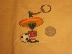 MEXICO 1986 FIFA WORLD CUP FOOTBAL/SOCCER PIQUE KEY CHAIN  | eBay