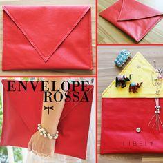Clutch Envelope Rossa http://libel4.com/