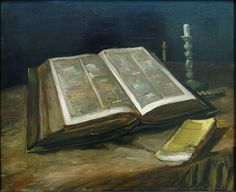 Van Gogh's Still Life with Bible. Professional Artist is the foremost business magazine for visual artists. Visit ProfessionalArtistMag.com.- www.professionalartistmag.com