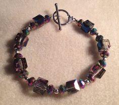 Chameleon toggle bracelet  by azCreationsByAlyssa on Etsy