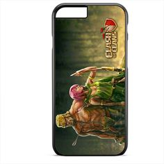Clash Of Clans Barbarian And Archer TATUM-2674 Apple Phonecase Cover For Iphone SE Case