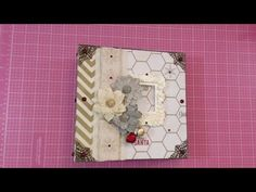 Mini Album Inspiration & start to finish on embellishment of album~WOC & Nitwit Collections - YouTube