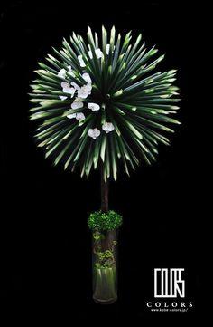 お祝いのスタンドフラワーの画像 | 國安太郎 オートクチュールフラワーアーティスト