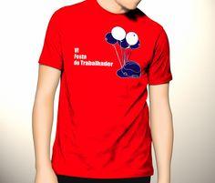 Camiseta para Festa do Trabalhador Sindimei 2009