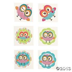 Owl Party Temporary Tattoos - 72 pcs, http://www.amazon.com/dp/B00BBFQ7DM/ref=cm_sw_r_pi_awdm_D4OYtb18BG64M