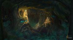 Dryads, Aleksei Batuev on ArtStation at https://www.artstation.com/artwork/3BKRA