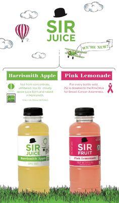 Simple and lovely Apple Juice, Fruit Juice, Pink Lemonade, Breast Cancer, Water Bottle, Gray, Simple, Design, Juice Drinks