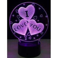 SHARE & Get it FREE | 7 Color Change 3D Illusion Love Heart Night Light For Valentine DayFor Fashion Lovers only:80,000+ Items·FREE SHIPPING Join Dresslily: Get YOUR $50 NOW!