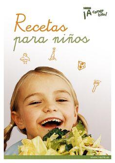 Recetas para niños  Recetas snecillas para los niños Toddler Meals, Make It Simple, Food And Drink, Lunch, Cooking, Books, Baby, Andalucia, Salads