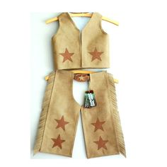 Now THIS is a cowboy costume for my little marlboro-man. From saltwaterkids on Etsy.