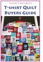 T-shirt Quilt Buying Guide - this will be useful for the future!