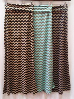Chevron Print Maxi Skirt Cute!