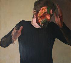 Mask 70418 Cyprian Nocoń portrait 2018 art gallery contemporary portrait