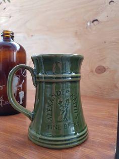 Mug Alexander Keith's Beer green Mug fine beer mug with deer ceramique glacée Beer oktoberfest by ShabbyChook on Etsy Ice Beer, Green Mugs, Boutique Etsy, Ajouter, Glazed Ceramic, Voici, Etsy Vintage, Deer, Cups