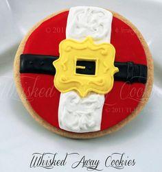 Santa's Belt Cookie (Whisked Away Cookies)