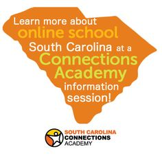 Learn more about online school in South Carolina at a Connections Academy information session! http://www.connectionsacademy.com/south-carolina-virtual-school/learn-more/events?utm_campaign=infosession-pin&utm_source=pinterest.com&utm_medium=social&utm_content=SCevents