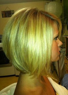 Golden Bob Hairstyle sexy! and professional... #beauty