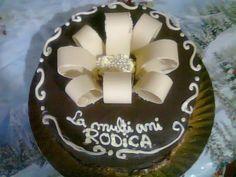 Tort si prajituri Andrea : Tort aniversar cu crema de ciocolata Birthday Cake, Desserts, Birthday Cakes, Postres, Deserts, Dessert, Birthday Cookies, Food Deserts
