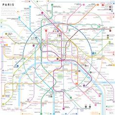 Simplified Subway Maps – Fubiz Media