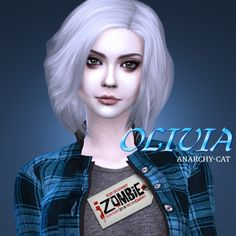 Anarchy-Cat: Rose McIver Olivia Moore • Sims 4 Downloads