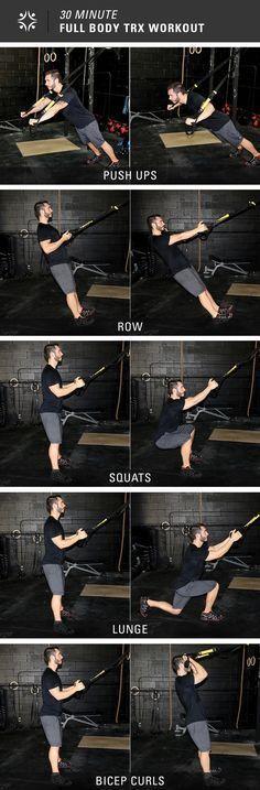 5 Exercises, 30 Minutes = Full Body Workout #cardiomenfullbody