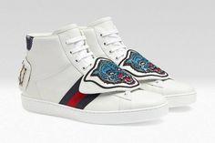 Gucci traz linha de sneakers com Pacthes destacáveis para a Pré-Coleção de Outono/Inverno 2017 – O Cara Fashion
