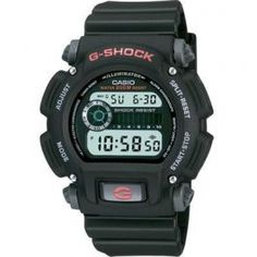 G Shock Mens Watch Black  G-Shock Mens Watch.. With full 200M WR, Shock Resistant, 24 Hour stopwatch and countdown timer, standard issue never looked this good. Shock Resistant; 200 Meter Water Resistant; EL Backlight with Afterglow; Daily Alarm; Countdown Timer; Input range:...