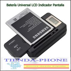 CARGADOR EXTERNO BATERIA universal USB enchufe movil camara móviles LG Zte HTC