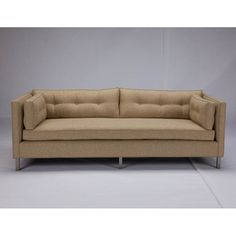 @Overstock - This contemporary sofa will be the center of attention in any space. Featuring wrap-around button tufting, stainless steel supports, and double doweled alder wood for maximum durability, it is stylish and comfortable.http://www.overstock.com/Home-Garden/JAR-Designs-The-Eastwyck-Chex-Sofa/7411111/product.html?CID=214117 $1,579.99