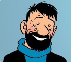 Captain Haddock BEFORE he opens Abdullah's gift. Haddock Tintin, Tin Tin Cartoon, Captain Haddock, Cartoon Characters, Fictional Characters, Human Condition, Latest Books, Art Plastique, Make Me Smile