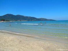 Skala Potamia, Thassos Island - popular resort with family hotels and sandy beach
