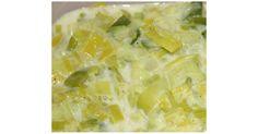 Fondue de poireaux WW, une recette de la catégorie Accompagnements. Plus de recette Thermomix® www.espace-recettes.fr