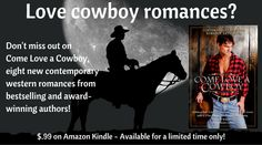 8 new contemporary western romances for only $.99