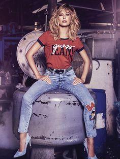 """ Hailey x Guess 1981 Originals Campaign [More] """