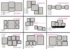 Displaying framed art guide | Classyclutter.net